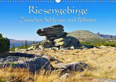 Riesengebirge - Zwischen Schlesien und Böhmen (Wandkalender 2019 DIN A3 quer), LianeM