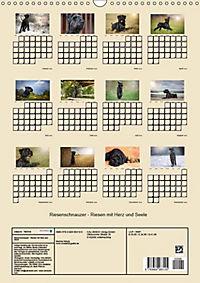 Riesenschnauzer - Riesen mit Herz und Seele (Wandkalender 2019 DIN A3 hoch) - Produktdetailbild 3