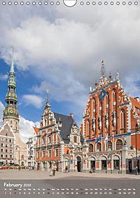 Riga Sigulda Latvia (Wall Calendar 2019 DIN A4 Portrait) - Produktdetailbild 2