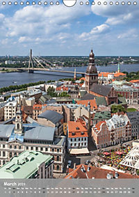 Riga Sigulda Latvia (Wall Calendar 2019 DIN A4 Portrait) - Produktdetailbild 3