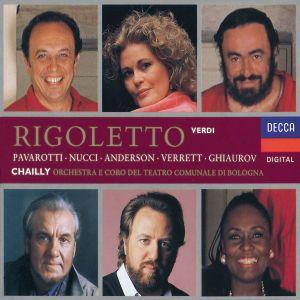 Rigoletto (Ga), Pavarotti, Nucci, Verrett, Chailly, Otcb