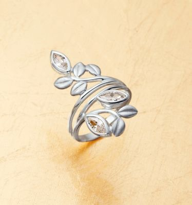 Ring Florale, SI 925