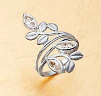 "Ring ""Florale"", SI 925 - Produktdetailbild 1"