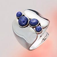 "Ring ""Nila"", Silber 925, mit Lapislazuli - Produktdetailbild 1"