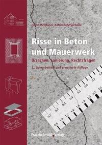 risse in beton und mauerwerk buch portofrei bei. Black Bedroom Furniture Sets. Home Design Ideas