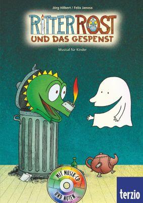 Ritter Rost Band 2 mit Audio-CD: Ritter Rost und das Gespenst, Jörg Hilbert, Felix Janosa