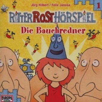 Ritter Rost Hörspiel Band 1: Die Bauchredner (1 Audio-CD), Jörg Hilbert, Felix Janosa