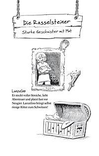 Ritter von Rasselstein Band 2: Zauberschwert und Sturmwindpferd - Produktdetailbild 1