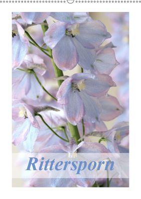 Rittersporn (Wandkalender 2019 DIN A2 hoch), Gisela Kruse