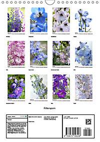 Rittersporn (Wandkalender 2019 DIN A4 hoch) - Produktdetailbild 13