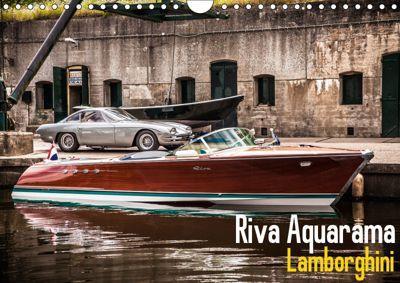 Riva Aquarama Lamborghini (Wall Calendar 2019 DIN A4 Landscape), Maurice Volmeyer