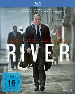 River - Staffel 1 - 2 Disc Bluray, Stellan Skarsgard, Nicola Walker, Eddie Marsan