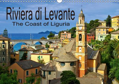 Riviera di Levante The Coast of Liguria (Wall Calendar 2019 DIN A3 Landscape), k.A. LianeM