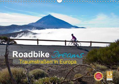Roadbike Dreams. Traumstrassen in Europa (Wandkalender 2019 DIN A3 quer), Ralf Schanze