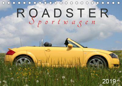 Roadster Sportwagen (Tischkalender 2019 DIN A5 quer), SchnelleWelten