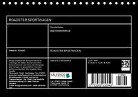 Roadster Sportwagen (Tischkalender 2019 DIN A5 quer) - Produktdetailbild 13