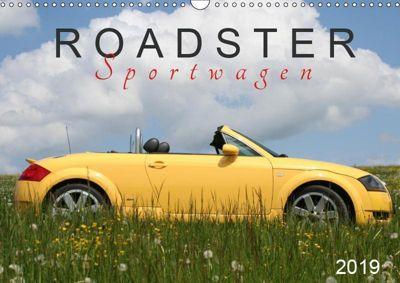 Roadster Sportwagen (Wandkalender 2019 DIN A3 quer), k.A. SchnelleWelten