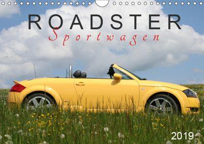 Roadster Sportwagen (Wandkalender 2019 DIN A4 quer), SchnelleWelten