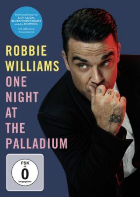 Robbie Williams - One Night at the Palladium, Robbie Williams