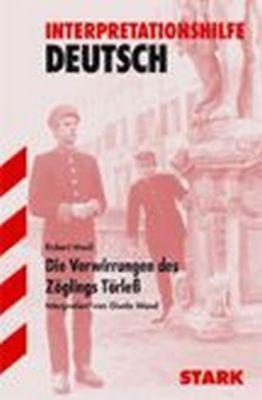 Robert Musil 'Die Verwirrungen des Zöglings Törleß', Robert Musil