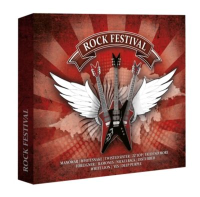 Rock Festival (Exklusive 5CD-Box), Various Artists