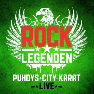 Rock Legenden Live, Puhdys, City, Karat