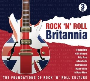 Rock'N Roll Britannia, Diverse Interpreten