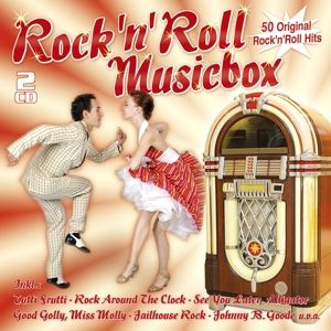 Rock'N'Roll Musicbox-50 Original Hits, Diverse Interpreten