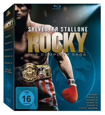 Rocky - The Complete Saga, Sylvester Stallone