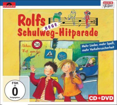 Rolfs Neue Schulweg-Hitparade  CD+DVD, Rolf Zuckowski