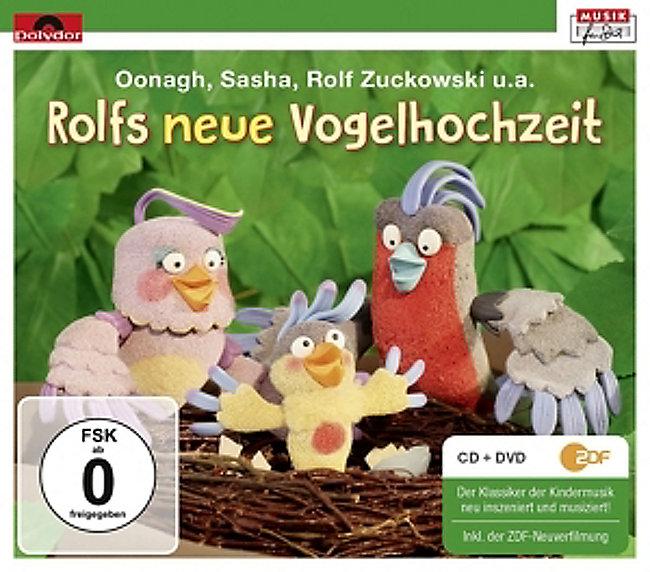 Rolfs Neue Vogelhochzeit Cddvd Von Rolf Zuckowski Weltbildde