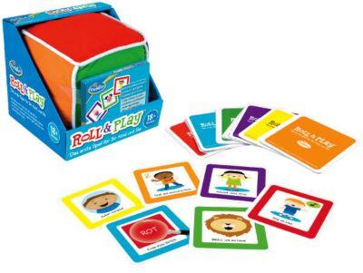 Roll & Play Spielwürfel - Das erste Spiel für Ihr Kind und Sie