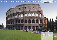 Rom, Blickpunkte der ewigen Stadt.AT-Version (Tischkalender 2019 DIN A5 quer) - Produktdetailbild 4