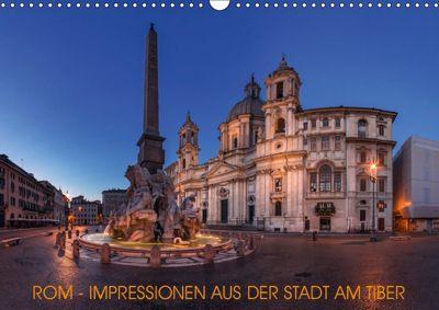 Rom - Impressionen aus der Stadt am Tiber (Wandkalender 2019 DIN A3 quer), Jean Claude Castor I 030mm-photography