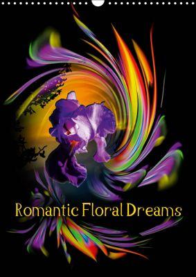 Romantic Floral Dreams (Wall Calendar 2019 DIN A3 Portrait), Walter Zettl