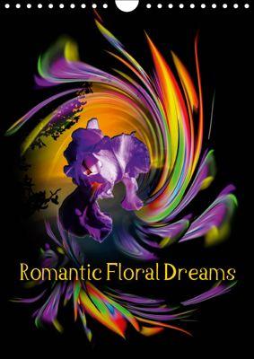 Romantic Floral Dreams (Wall Calendar 2019 DIN A4 Portrait), Walter Zettl
