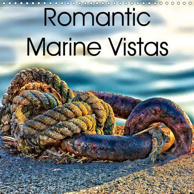 Romantic Marine Vistas (Wall Calendar 2019 300 × 300 mm Square), Gabriela Wernicke-Marfo
