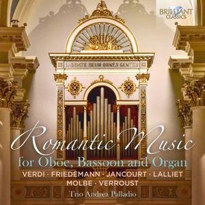 Romantic Music For Oboe,Bassoon And Organ, Trio Andrea Palladio