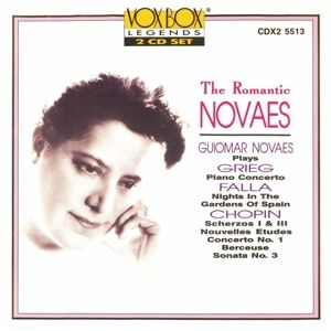 Romantic Novaes, Guiomar Novaes