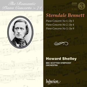 Romantic Piano Concerto Vol.74-Klavierkonz.1-3, William Sterndale Benett