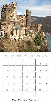 Romantic Rhine from Mainz to Cologne (Wall Calendar 2019 300 × 300 mm Square) - Produktdetailbild 3