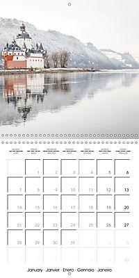 Romantic Rhine from Mainz to Cologne (Wall Calendar 2019 300 × 300 mm Square) - Produktdetailbild 1