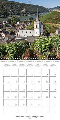 Romantic Rhine from Mainz to Cologne (Wall Calendar 2019 300 × 300 mm Square) - Produktdetailbild 5