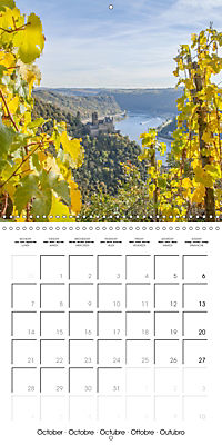 Romantic Rhine from Mainz to Cologne (Wall Calendar 2019 300 × 300 mm Square) - Produktdetailbild 10