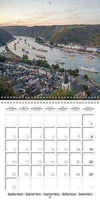 Romantic Rhine from Mainz to Cologne (Wall Calendar 2019 300 × 300 mm Square) - Produktdetailbild 9
