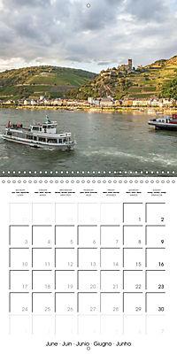 Romantic Rhine from Mainz to Cologne (Wall Calendar 2019 300 × 300 mm Square) - Produktdetailbild 6