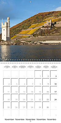 Romantic Rhine from Mainz to Cologne (Wall Calendar 2019 300 × 300 mm Square) - Produktdetailbild 11