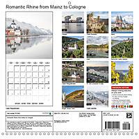 Romantic Rhine from Mainz to Cologne (Wall Calendar 2019 300 × 300 mm Square) - Produktdetailbild 13