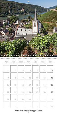 Romantic Rhine from Mainz to Cologne (Wall Calendar 2018 300 × 300 mm Square) - Produktdetailbild 5