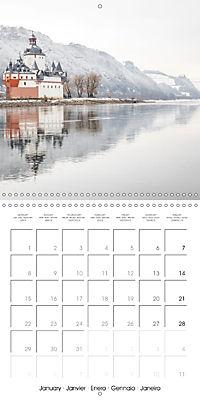 Romantic Rhine from Mainz to Cologne (Wall Calendar 2018 300 × 300 mm Square) - Produktdetailbild 1